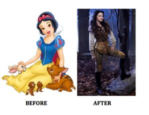 Snow White Puts Her Big Boy Pants On: A Media Makeover